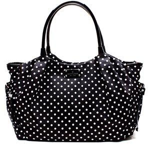 Kate Spade Stevie bag paid $418 B&W Polka Dots!